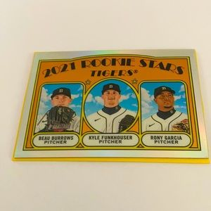 2021 Rookie stars tigers Baseball card